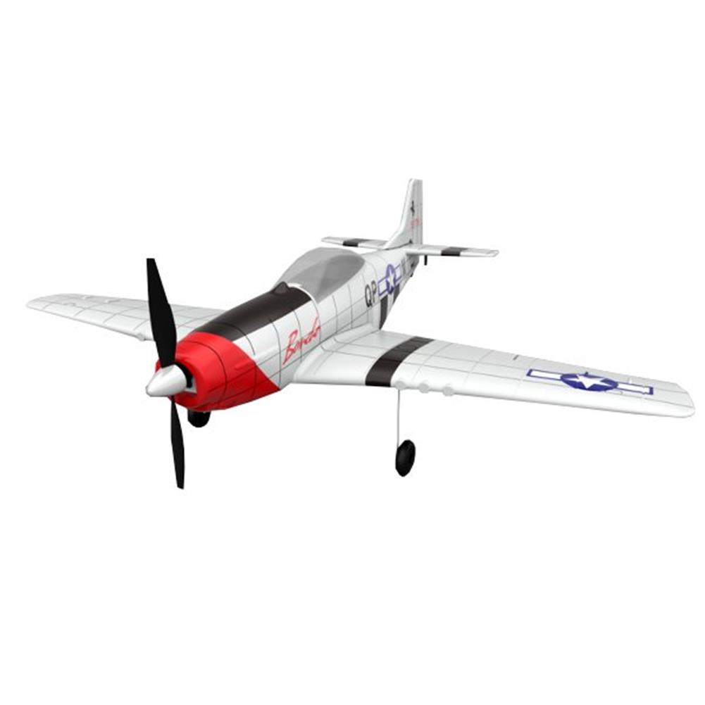 rc-airplane P51 2.4G 4CH 6-Axis Gyro Easy Flying Trainer  EPO Warbird RC Airplane RTF RC1240021