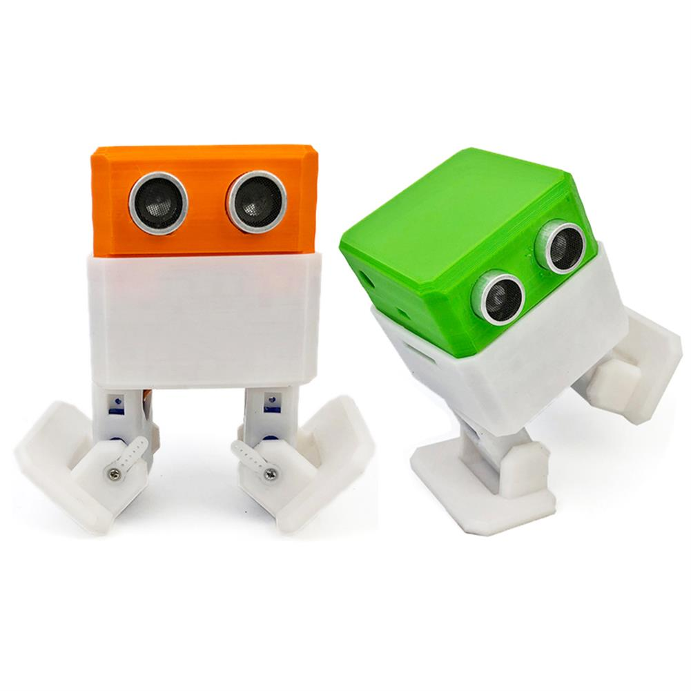 robot-toys OTTO Arduino Nano RC Robot Open Source Maker Obstacle Avoidance DIY Humanity Playmate 3D Toys RC1240893