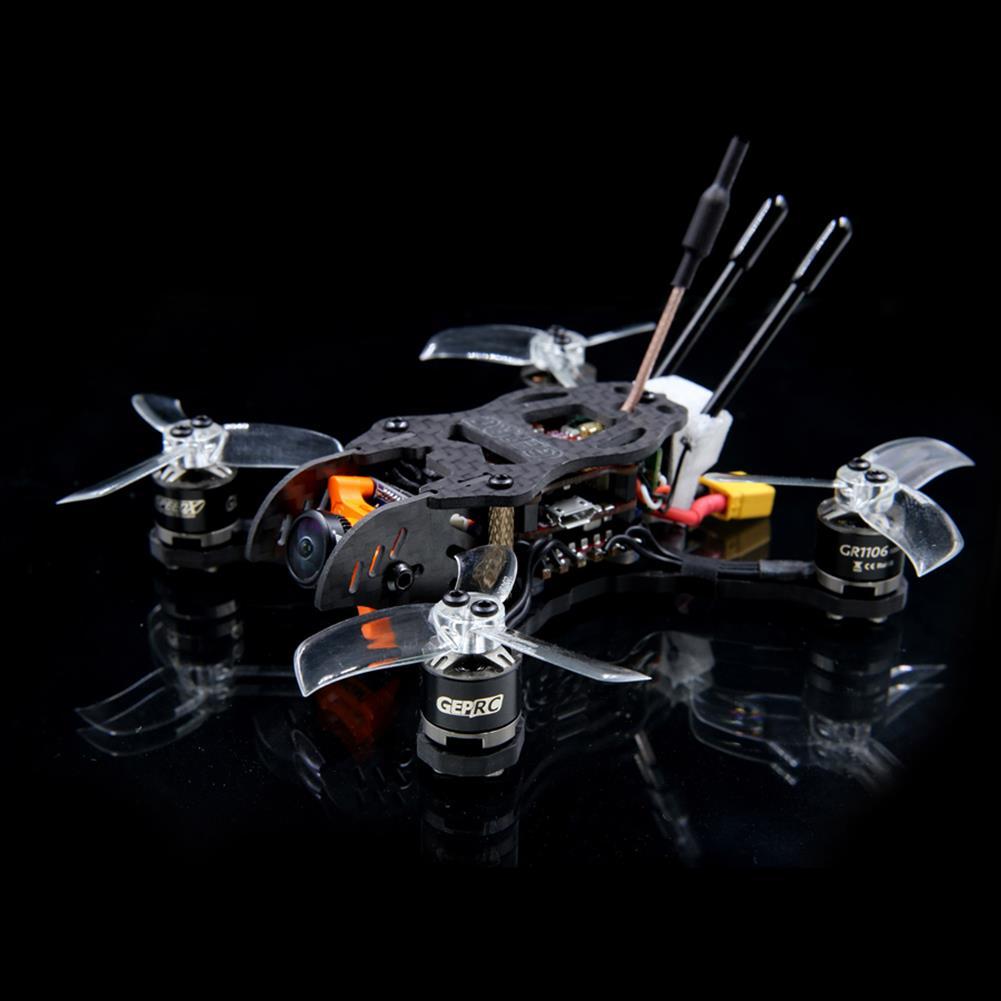 fpv-racing-drones GEPRC Hummingbird 110mm FPV Racing Drone Omnibus F4 12A BLHeli_S 5.8G 48CH VTX RunCam Micro Swift RC1245041 3