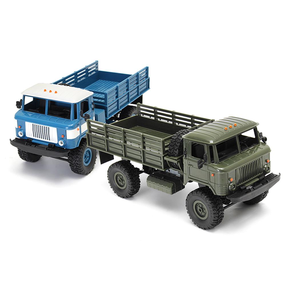 rc-cars WPL WPLB-24 1/16 RTR 4 WD RC Military Truck 2.4GHZ RC1245530 1