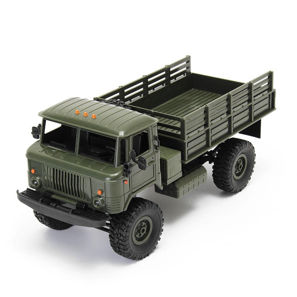 rc-cars WPL WPLB-24 1/16 RTR 4 WD RC Military Truck 2.4GHZ RC1245530 3