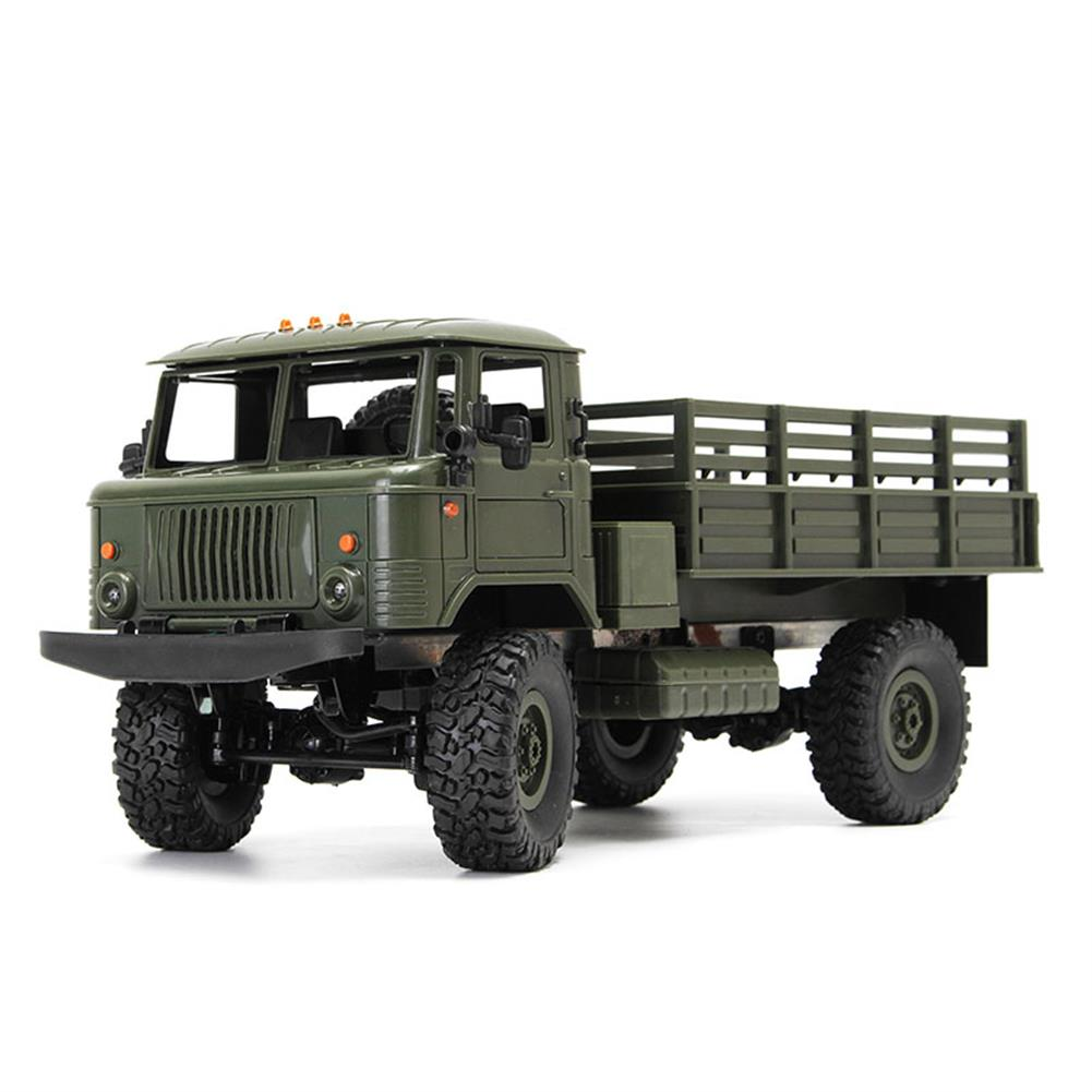 rc-cars WPL WPLB-24 1/16 RTR 4 WD RC Military Truck 2.4GHZ RC1245530 4