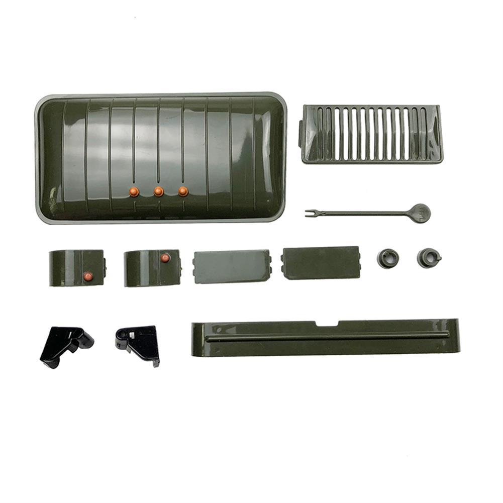 rc-cars DIY RC Car Kit WPL WPL B24 1/16 RTR 4 WD RC Military Truck 2.4GHZ RC1248766 8