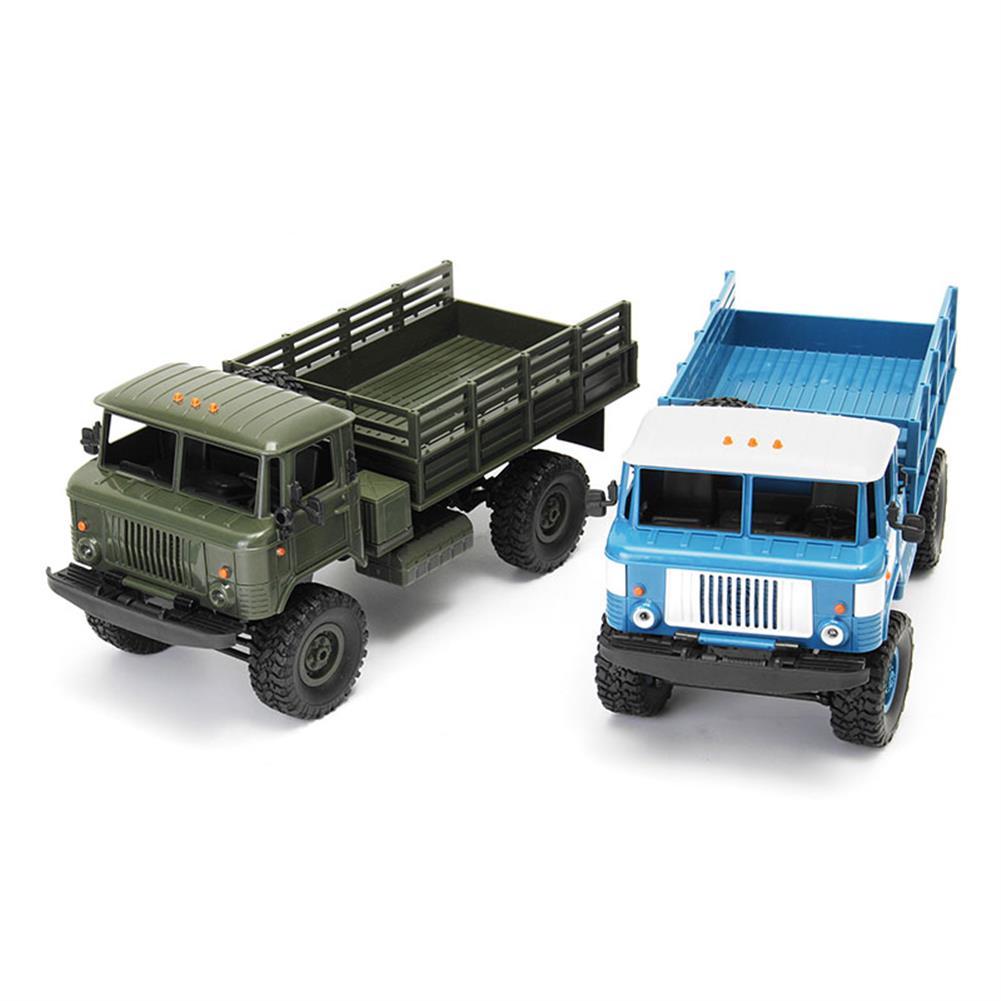 rc-cars DIY RC Car Kit WPL WPL B24 1/16 RTR 4 WD RC Military Truck 2.4GHZ RC1248766 9