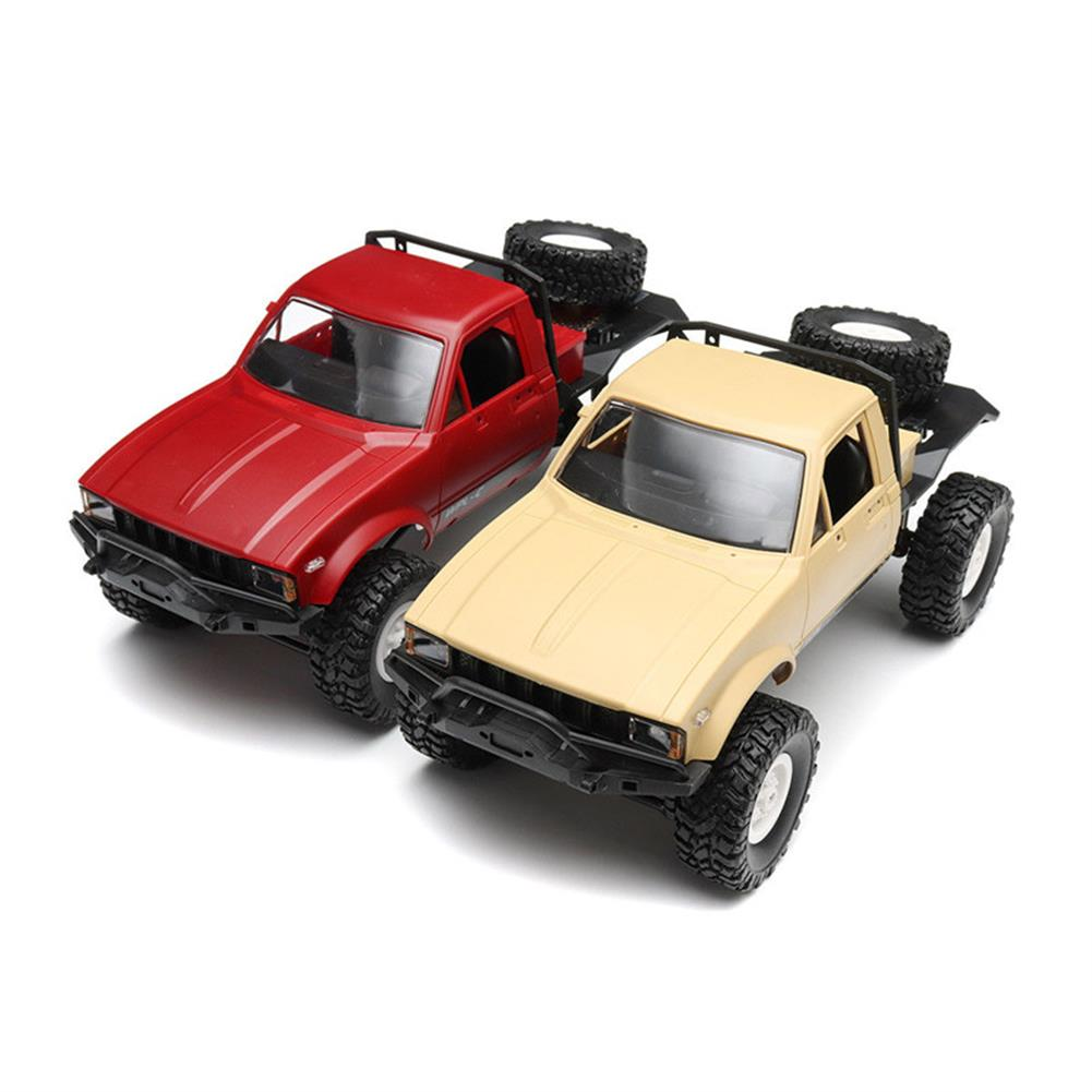 rc-cars WPL C14 1/16 2.4G 4WD Off Road RC Military Car Rock Crawler Truck With Front LED RTR Toys RC1251046