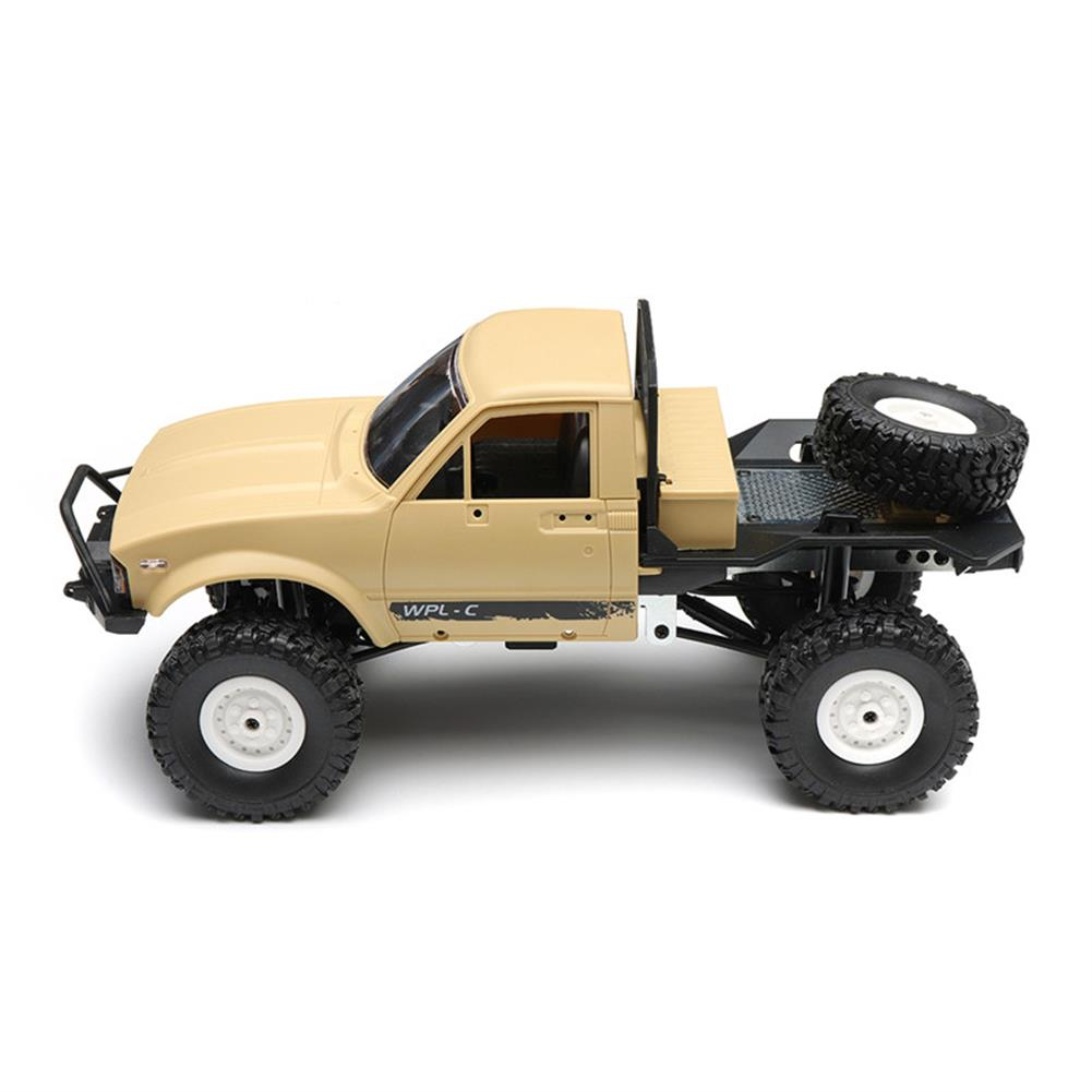 rc-cars WPL C14 1/16 2.4G 4WD Off Road RC Military Car Rock Crawler Truck With Front LED RTR Toys RC1251046 3