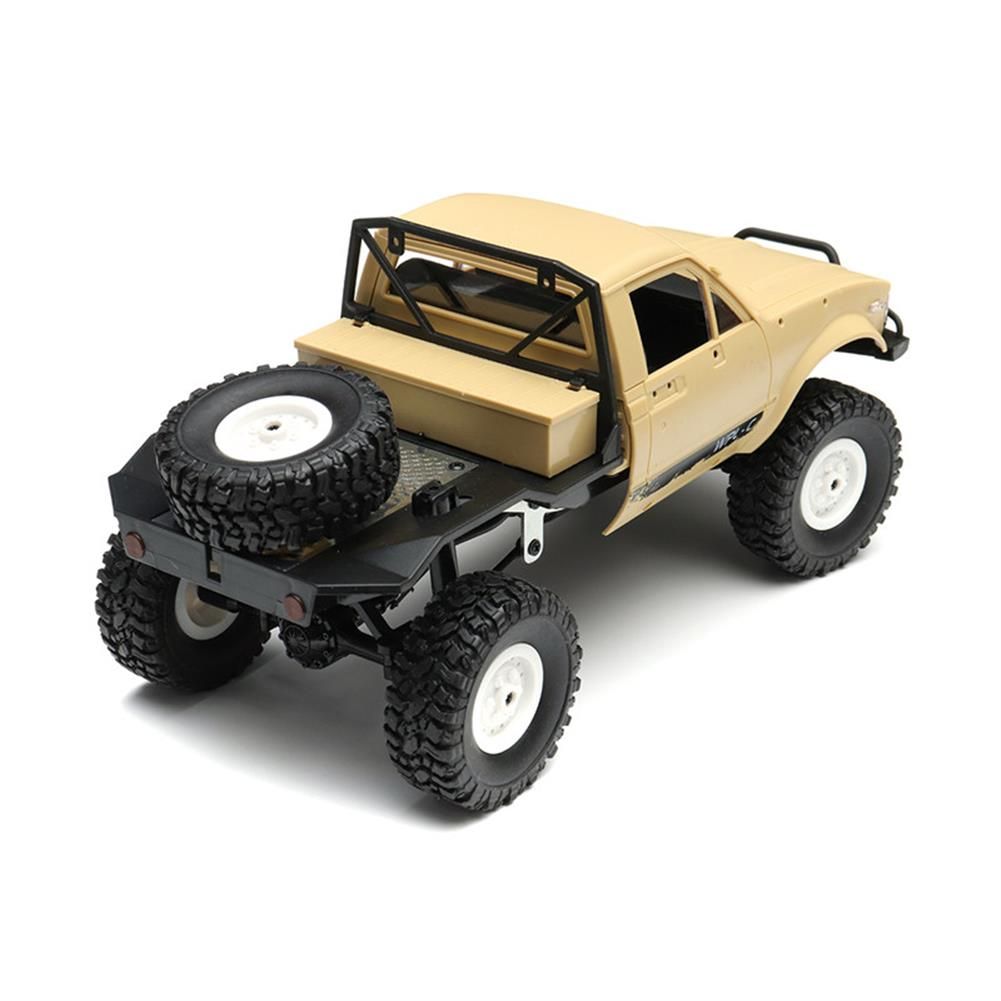 rc-cars WPL C14 1/16 2.4G 4WD Off Road RC Military Car Rock Crawler Truck With Front LED RTR Toys RC1251046 5