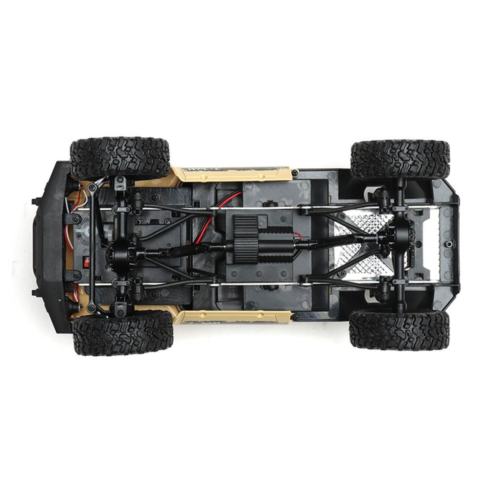 rc-cars WPL C14 1/16 2.4G 4WD Off Road RC Military Car Rock Crawler Truck With Front LED RTR Toys RC1251046 6