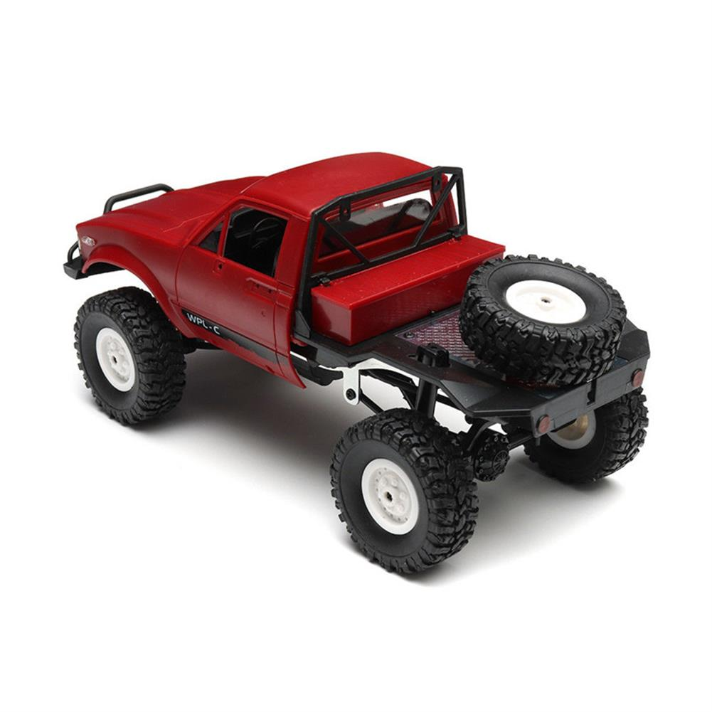 rc-cars WPL C14 1/16 2.4G 4WD Off Road RC Military Car Rock Crawler Truck With Front LED RTR Toys RC1251046 9