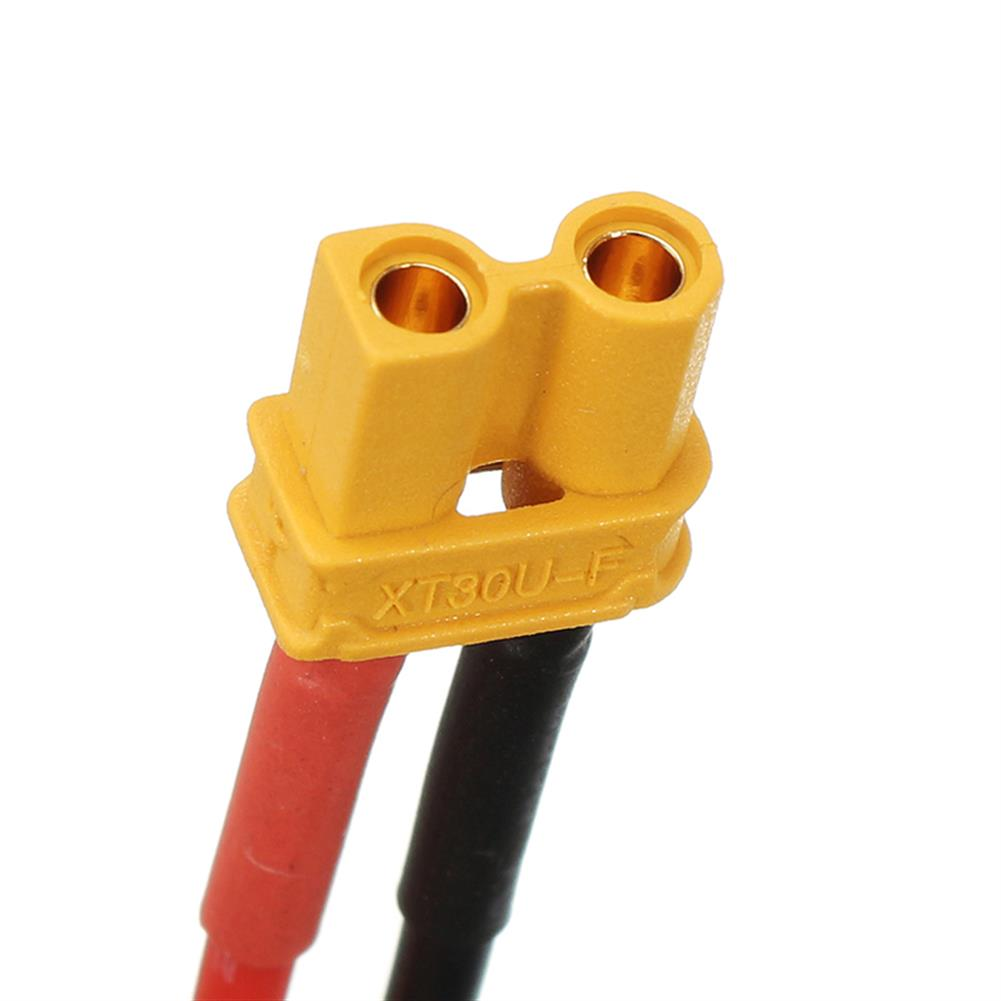 connector-cable-wire 5cm XT30U XT30 Male Female Plug 18AWG Cable for Section Board Soldering ESC 2S Lipo Battery RC1251461 4