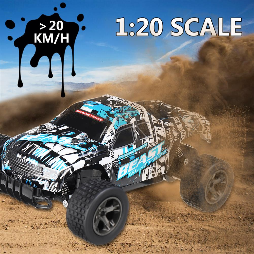 rc-cars 2811 1/20 2.4G 2WD High Speed RC Car Drift Radio Controlled Racing Climbing Off-Road Truck Toys RC1255462 1