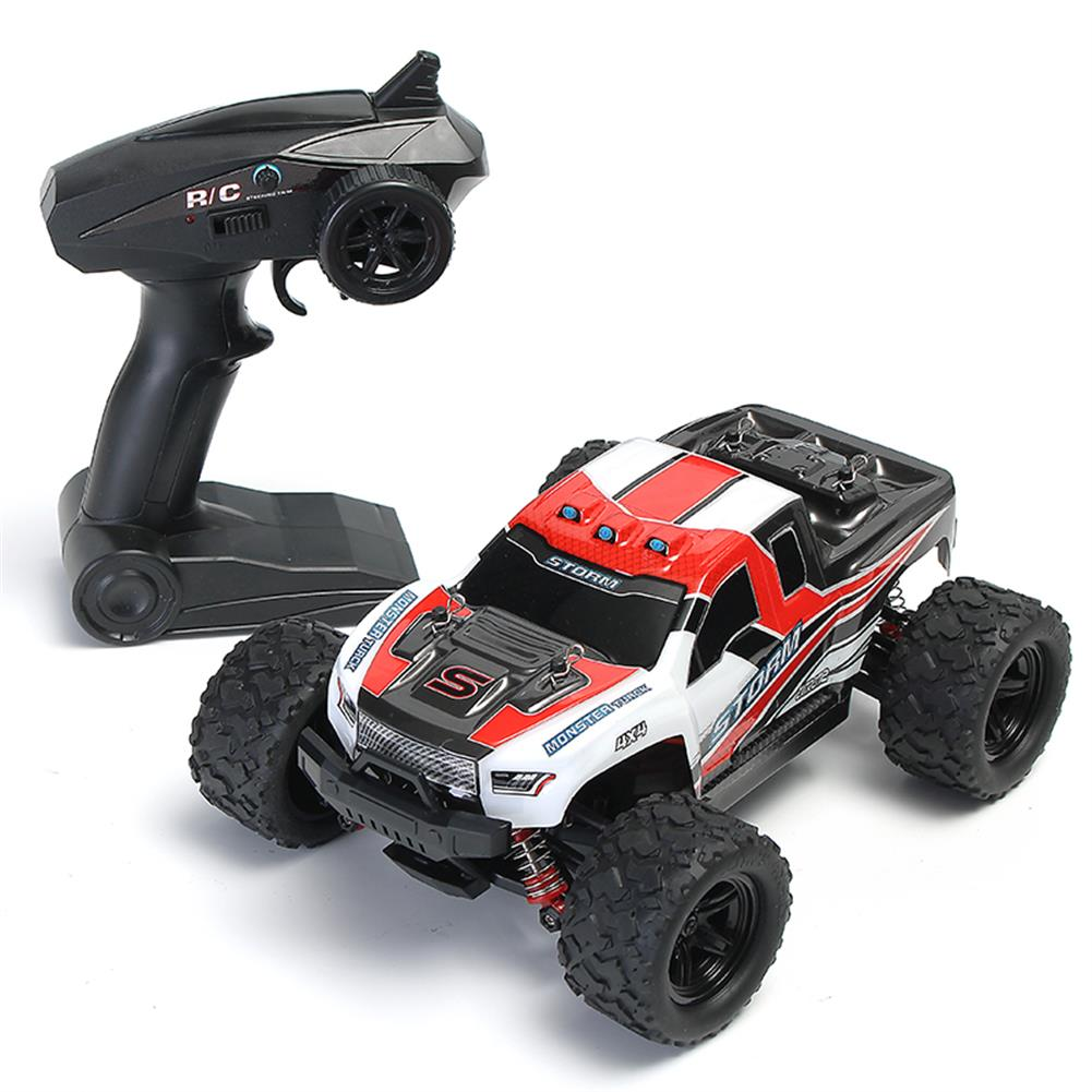 rc-cars HS 18301/18302 1/18 2.4G 4WD High Speed Big Foot RC Racing Car OFF-Road Vehicle Toys RC1256772 6