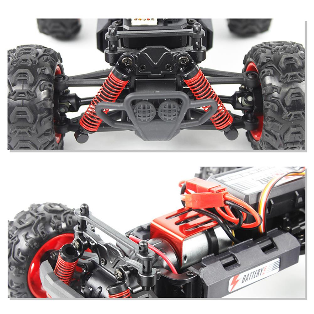 rc-cars FQ 9014 1/24 2.4G 4WD RC Racing Car Full Scale High Speed Off-Road Racer Model Vehicle Toys RC1260058 7