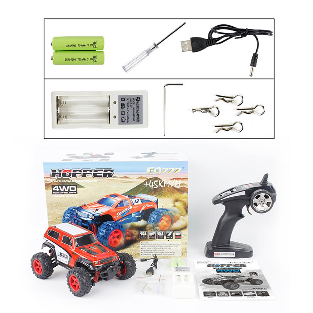 rc-cars FQ 9014 1/24 2.4G 4WD RC Racing Car Full Scale High Speed Off-Road Racer Model Vehicle Toys RC1260058 9
