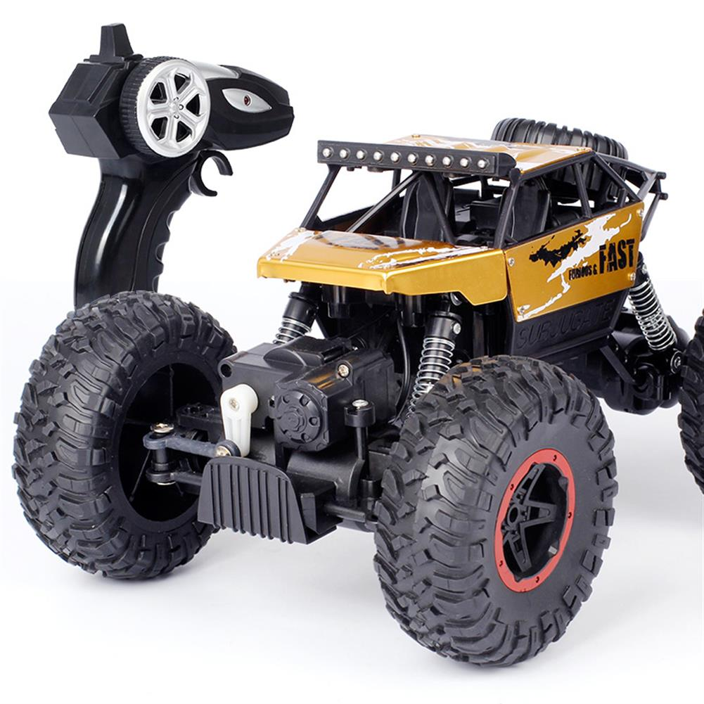 rc-cars Dadgod 1/18 2.4G 4WD Racing  RC Car High Speed Rock Crawler Bigfoot Climbing Truck Toy RC1262118