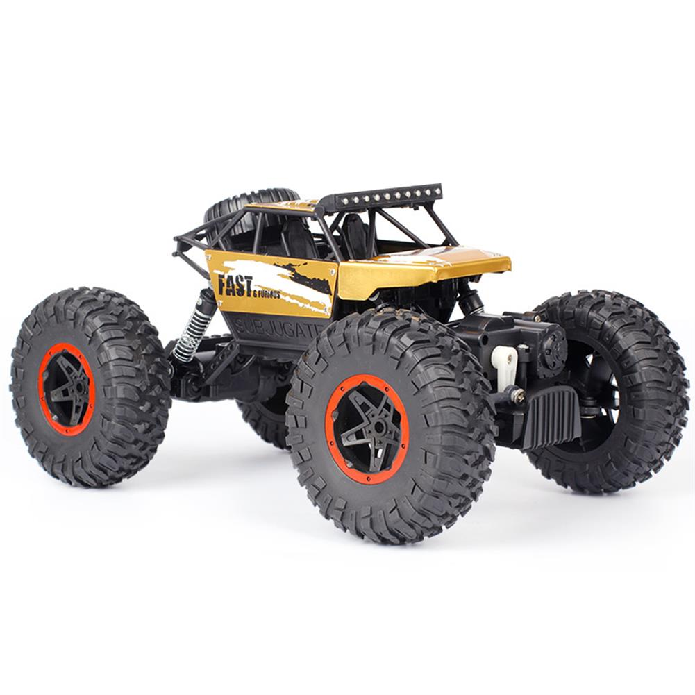 rc-cars Dadgod 1/18 2.4G 4WD Racing  RC Car High Speed Rock Crawler Bigfoot Climbing Truck Toy RC1262118 2