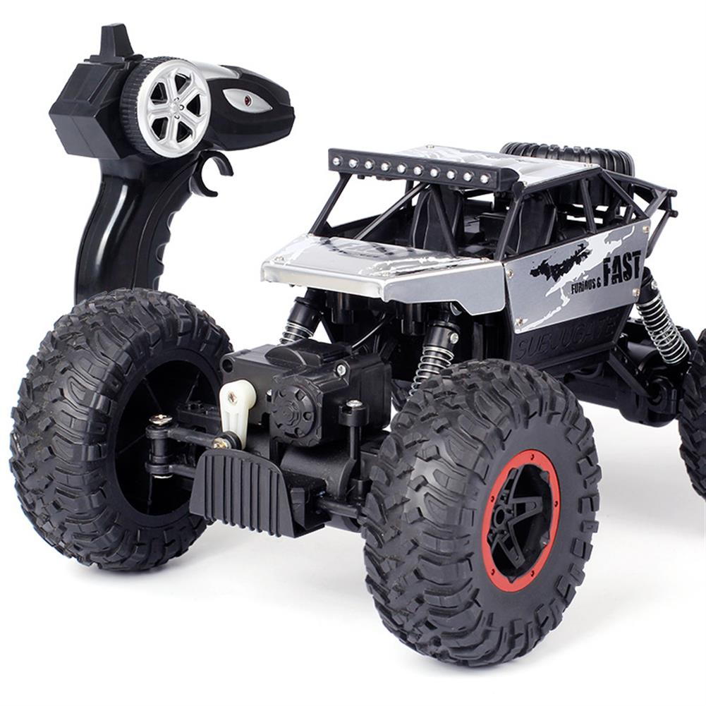 rc-cars Dadgod 1/18 2.4G 4WD Racing  RC Car High Speed Rock Crawler Bigfoot Climbing Truck Toy RC1262118 4