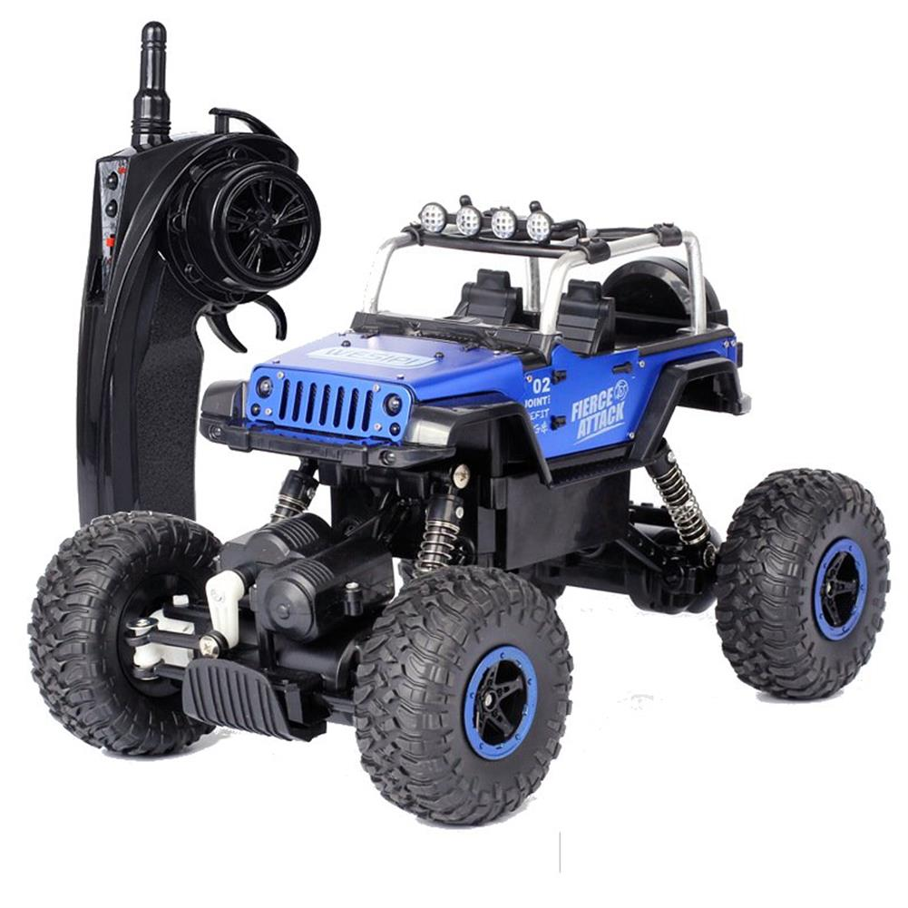 rc-cars WESIPI 3053R 1/18 2.4G 4WD Hummer RC Car Rock Crawler Off-Road RTR Vehicles W/ LED Light Toy RC1264129