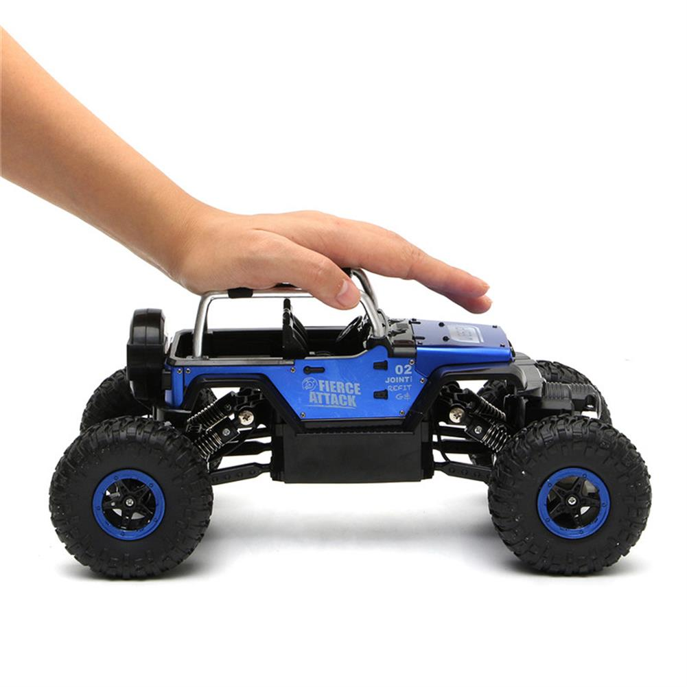 rc-cars WESIPI 3053R 1/18 2.4G 4WD Hummer RC Car Rock Crawler Off-Road RTR Vehicles W/ LED Light Toy RC1264129 1