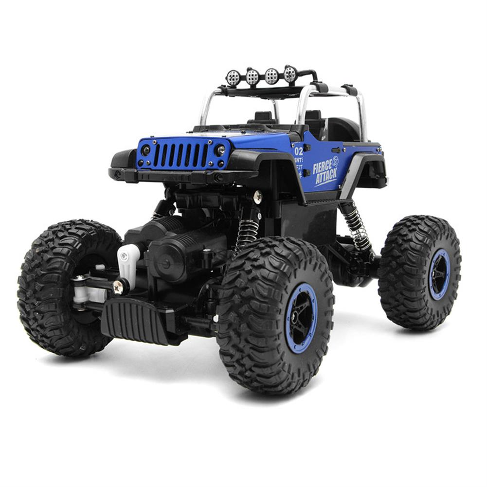 rc-cars WESIPI 3053R 1/18 2.4G 4WD Hummer RC Car Rock Crawler Off-Road RTR Vehicles W/ LED Light Toy RC1264129 3