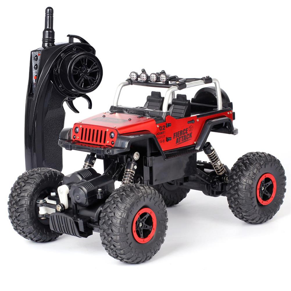 rc-cars WESIPI 3053R 1/18 2.4G 4WD Hummer RC Car Rock Crawler Off-Road RTR Vehicles W/ LED Light Toy RC1264129 5