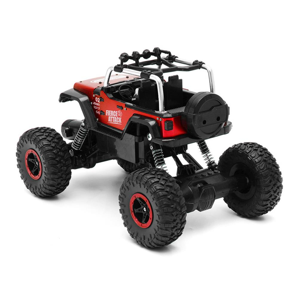 rc-cars WESIPI 3053R 1/18 2.4G 4WD Hummer RC Car Rock Crawler Off-Road RTR Vehicles W/ LED Light Toy RC1264129 6