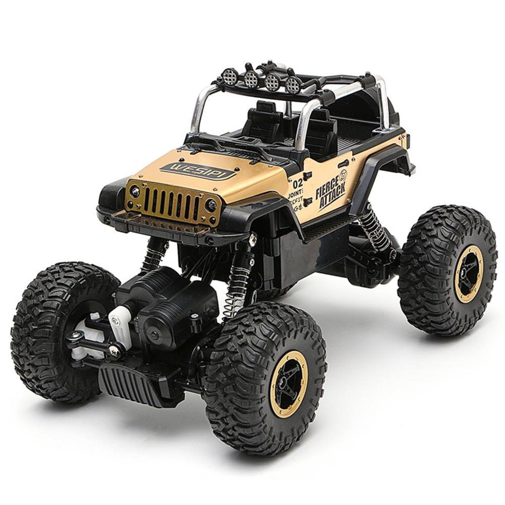 rc-cars WESIPI 3053R 1/18 2.4G 4WD Hummer RC Car Rock Crawler Off-Road RTR Vehicles W/ LED Light Toy RC1264129 7