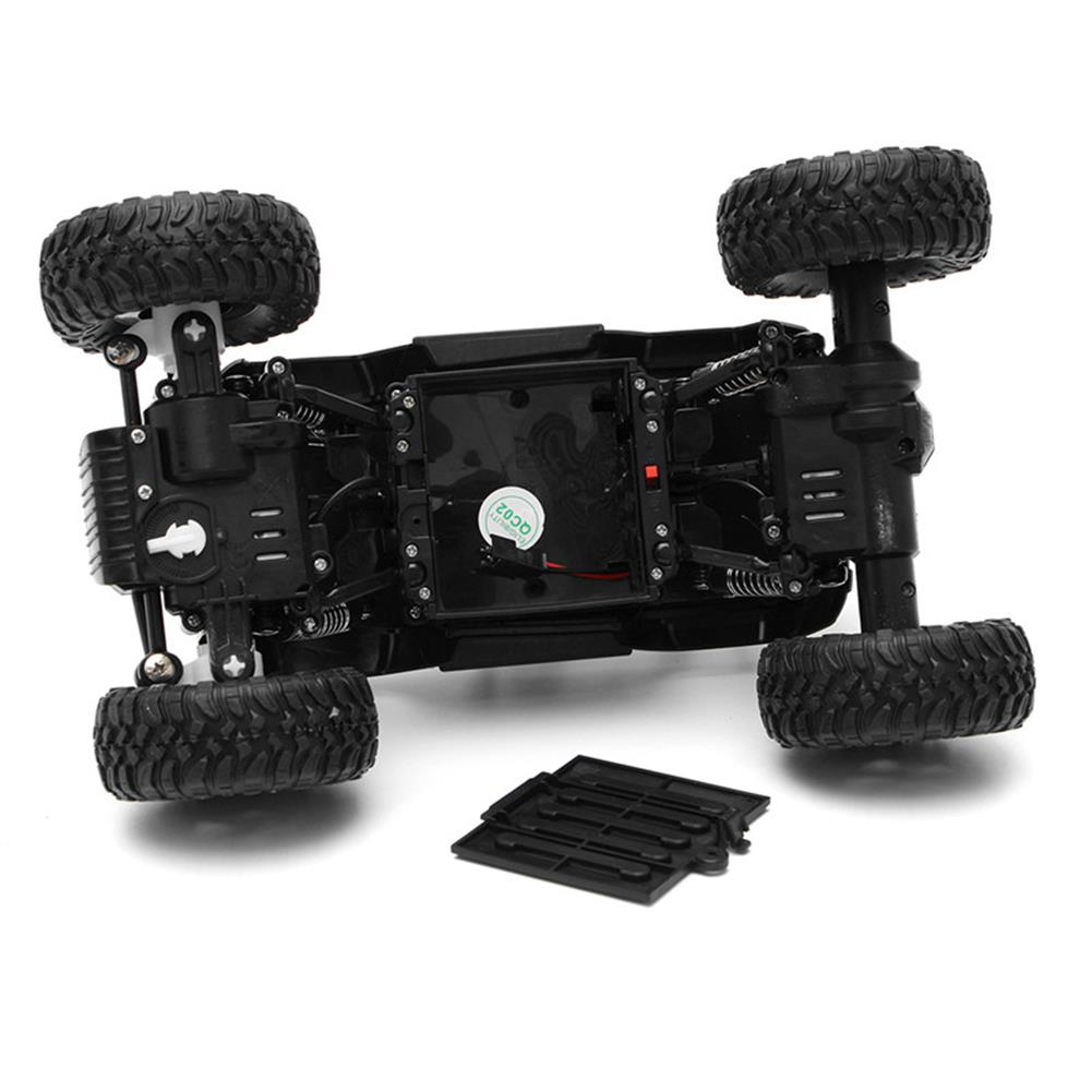 rc-cars WESIPI 3053R 1/18 2.4G 4WD Hummer RC Car Rock Crawler Off-Road RTR Vehicles W/ LED Light Toy RC1264129 9