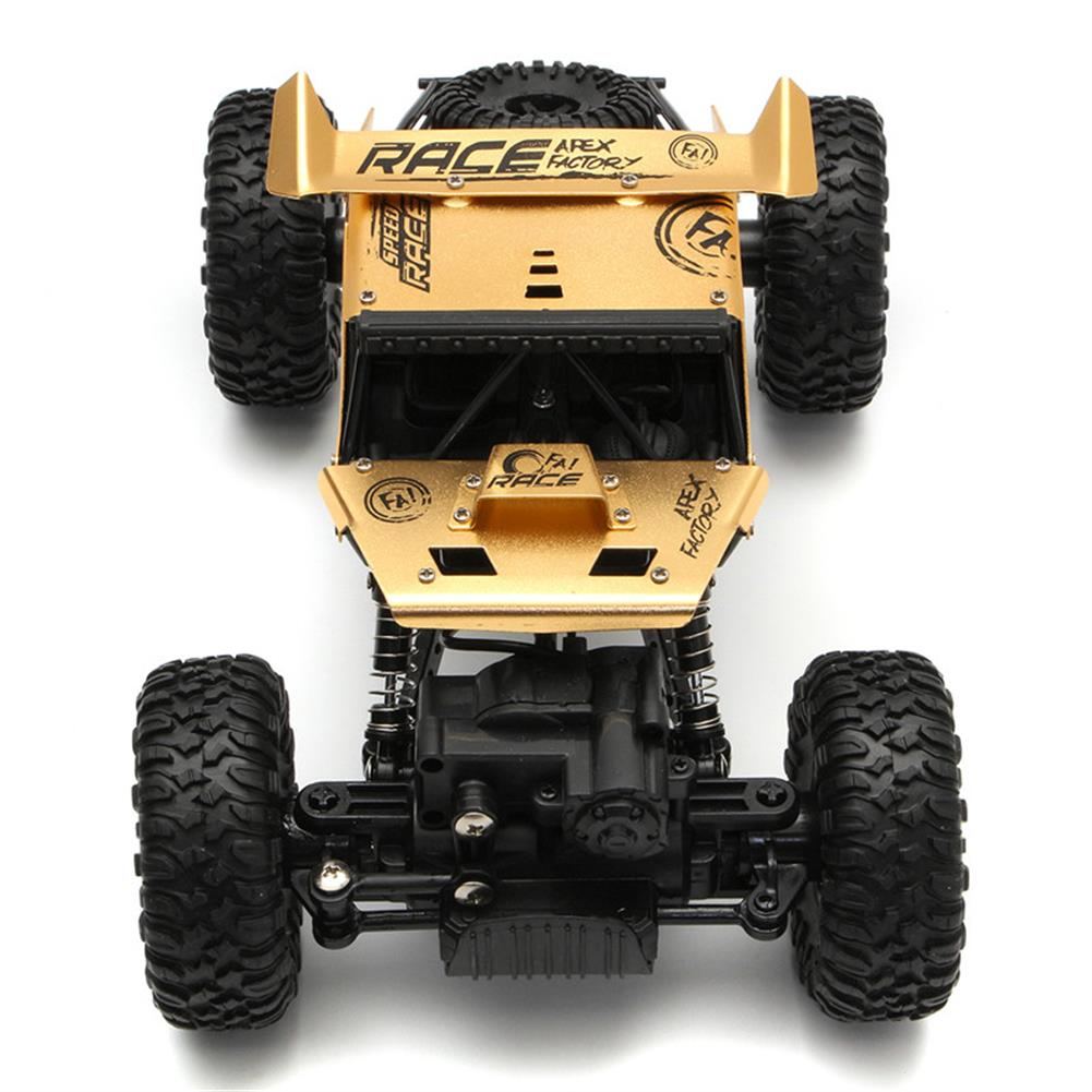 rc-cars Alloy 2.4G 1/18 4WD Crawler Climbing Professional Off-Road Vehicle RC Car RC1264553 4