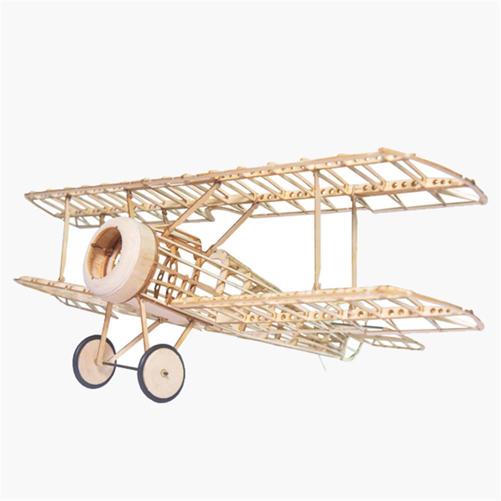 rc-airplane Mini Camel Fighter 380mm Wingspan Balsa Wood Laser Cut RC Airplane Kit RC1267512
