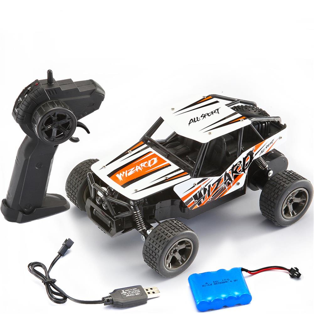 rc-cars ChengKe 1813B 1/20 2.4G Racing RC Car Alloy Car Shell Big Foot High Speed Off-Road Vehicle Toy RC1270316 3