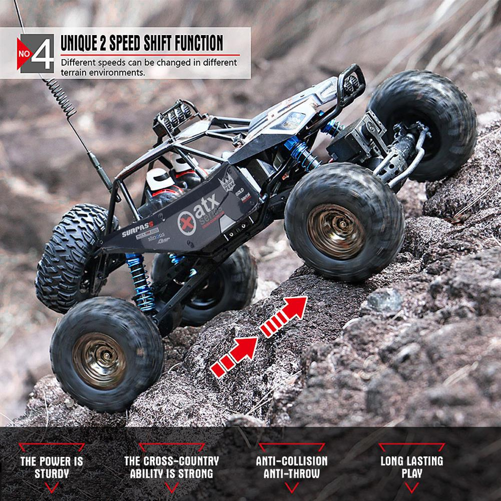 rc-cars SUBOTECH BG1515 1/12 2.4GHz 4WD Racing RC Car Rock Climbing RTR Pathfinder Toys RC1278306 8
