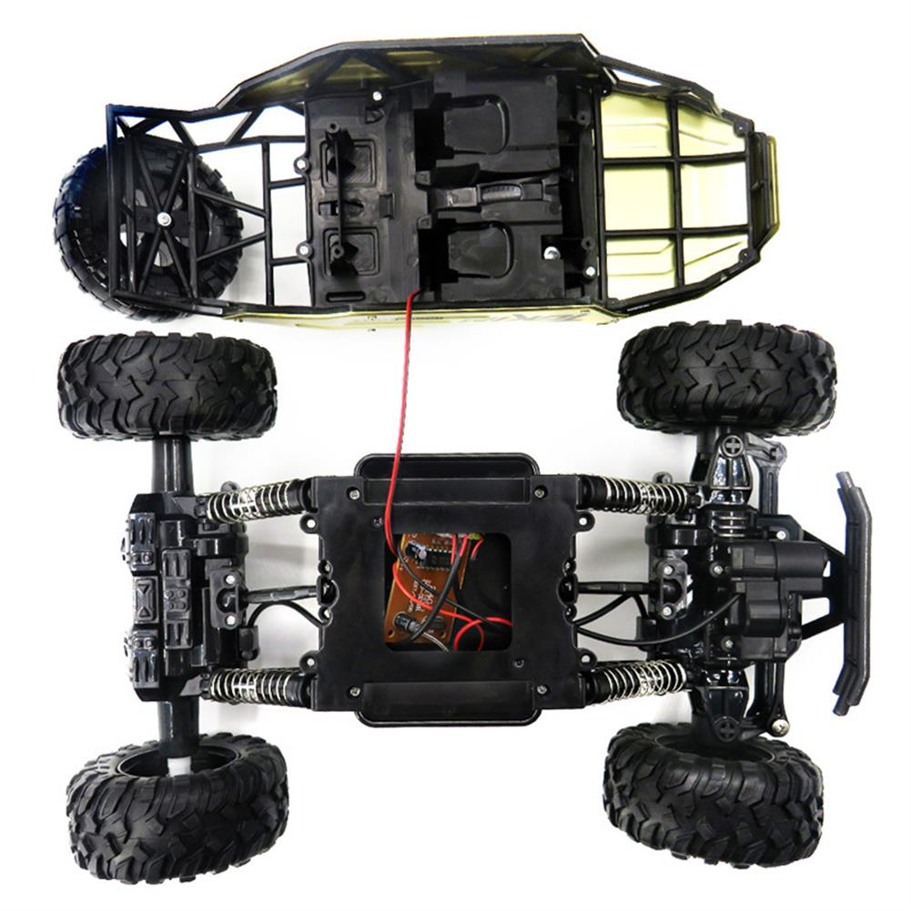 rc-cars Flytec 6026 1/12 RC Car Vehicle 2.4G Metal Alloy Car Body Shell Rock Crawler Buggy Model Toy RC1278612 9
