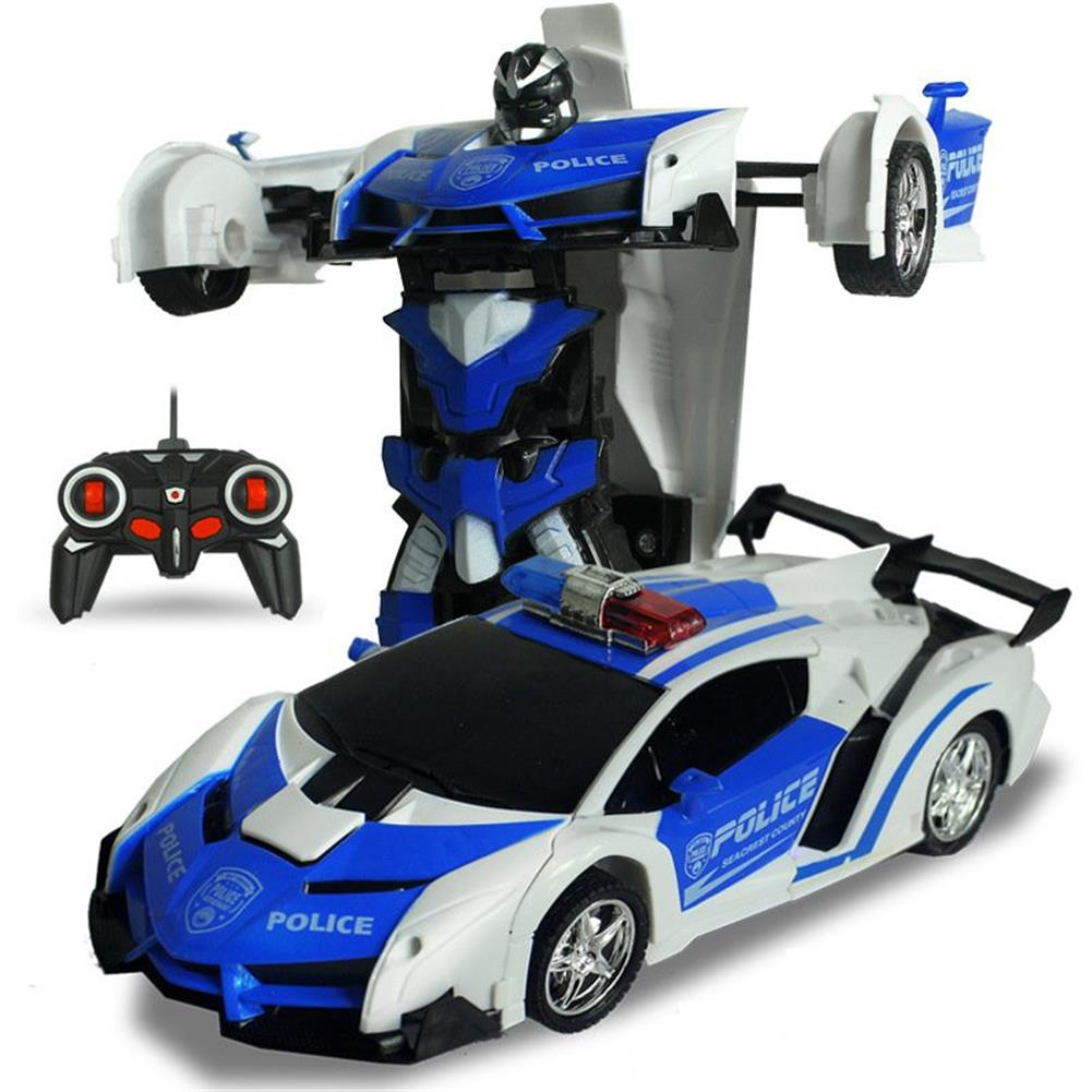 rc-cars Rastar 2 In 1 Rc Car Sports Wireless Transformation Robot Models Deformation Fighting Toys RC1286643 9
