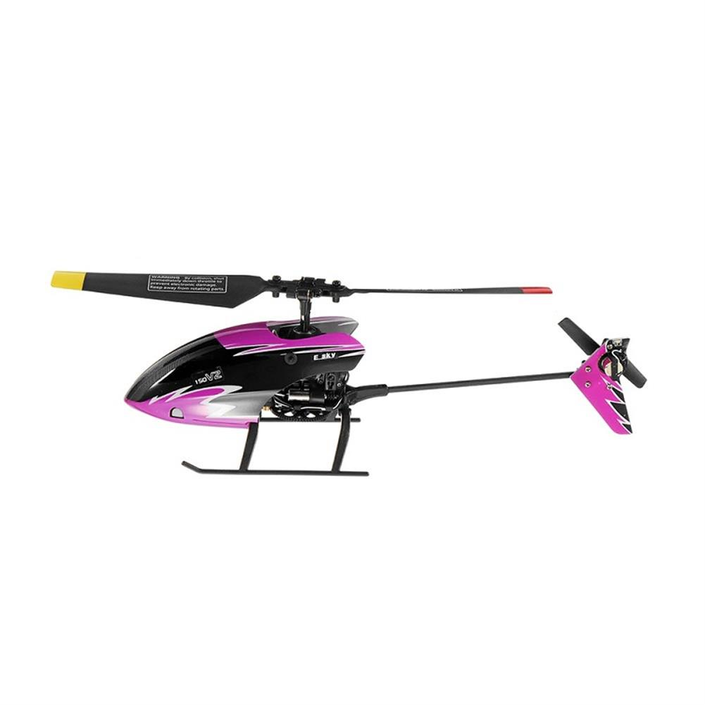 rc-helicopters ESKY 150 V2 2.4G 5CH 6 Axis Gyro Flybarless RC Helicopter with CC3D RC1290632 2