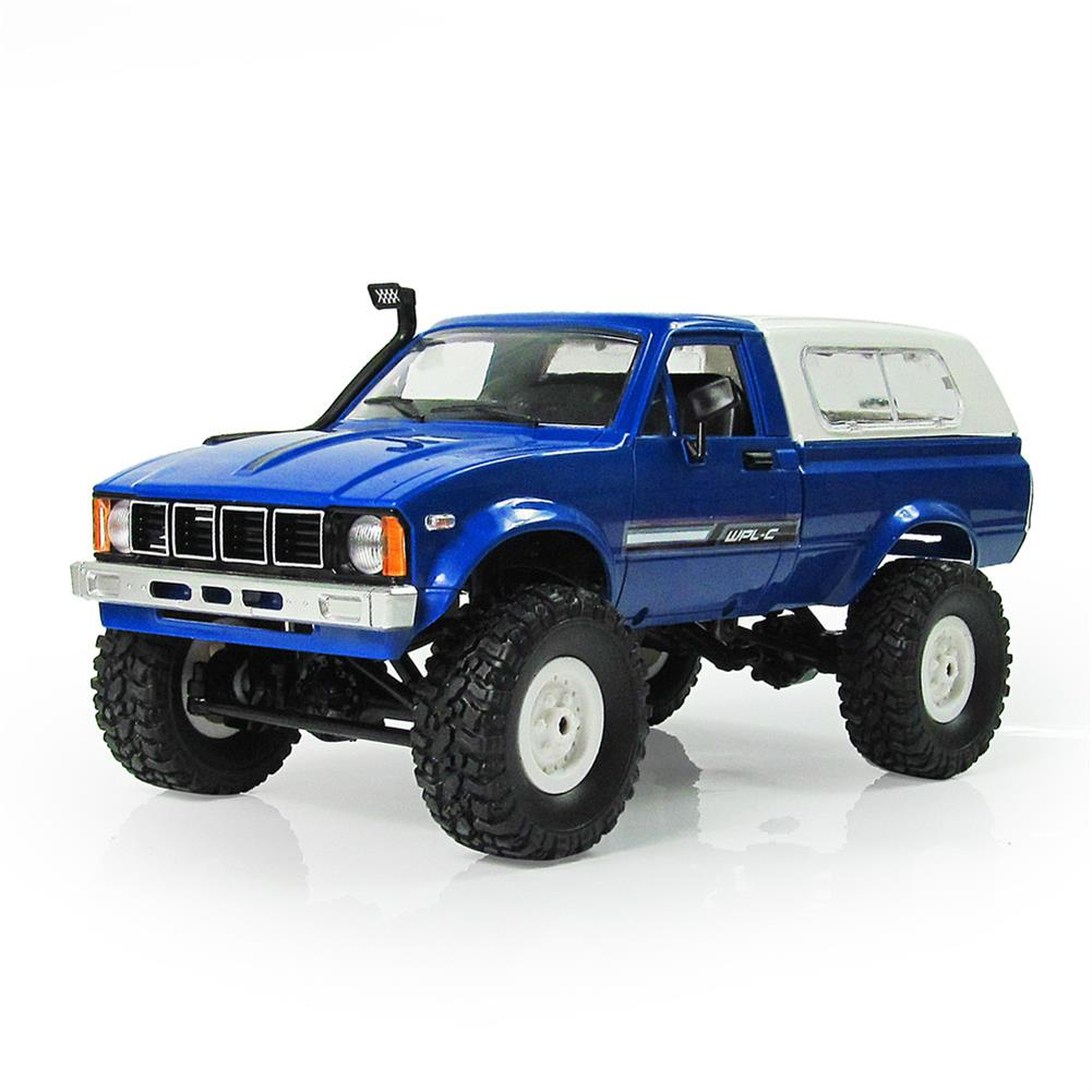 rc-cars WPL C24 1/16 Kit 4WD 2.4G Military Truck Buggy Crawler Off Road RC Car 2CH Toy RC1291830