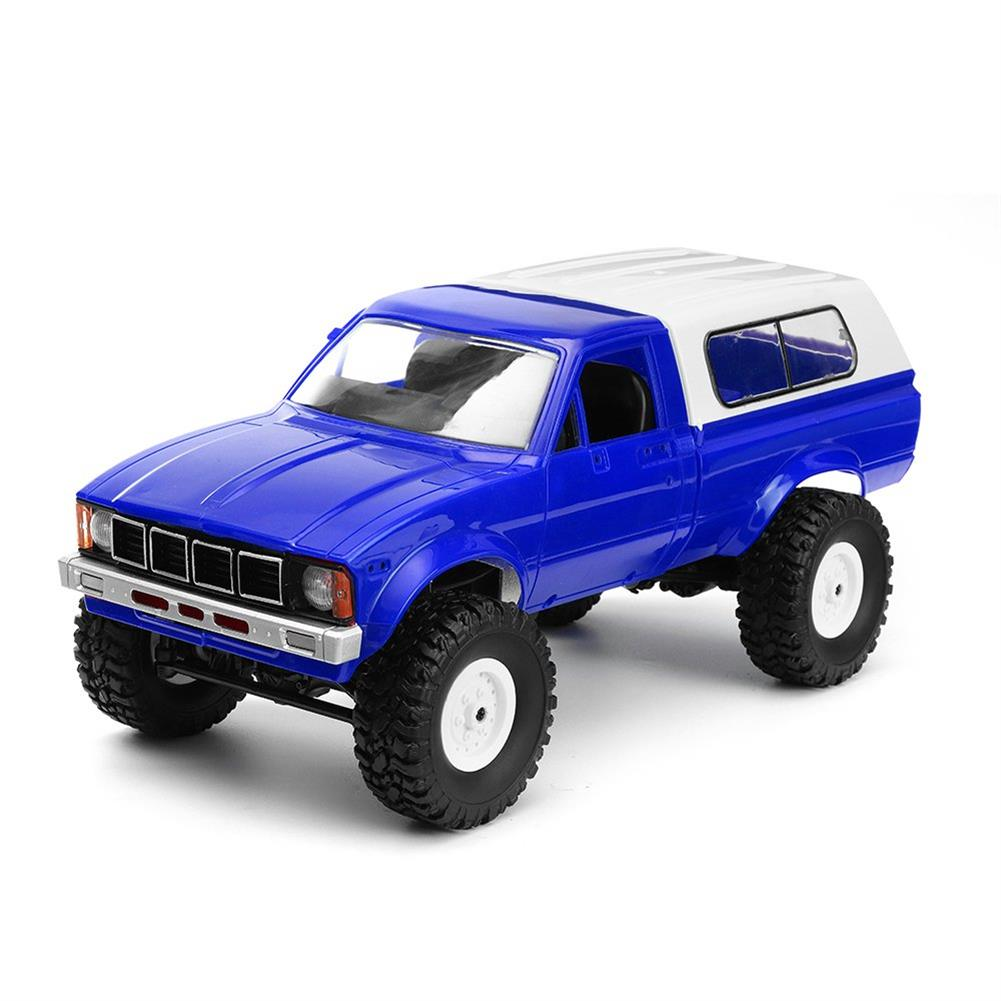 rc-cars WPL C24 1/16 Kit 4WD 2.4G Military Truck Buggy Crawler Off Road RC Car 2CH Toy RC1291830 1