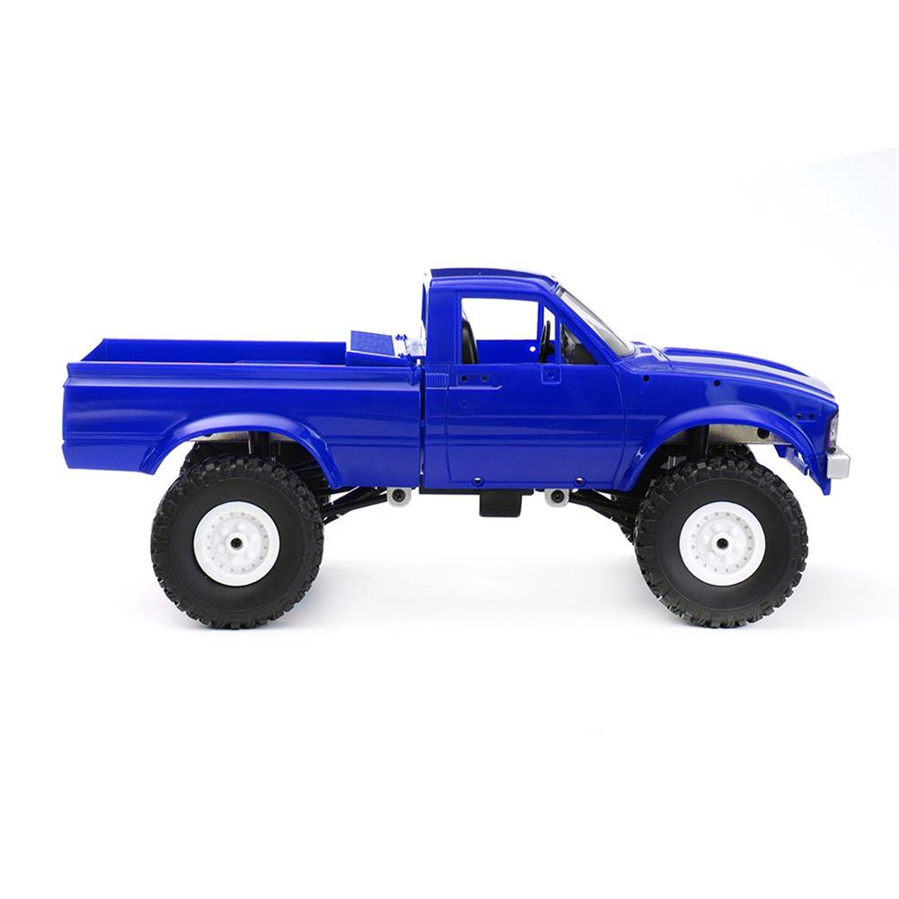 rc-cars WPL C24 1/16 Kit 4WD 2.4G Military Truck Buggy Crawler Off Road RC Car 2CH Toy RC1291830 2