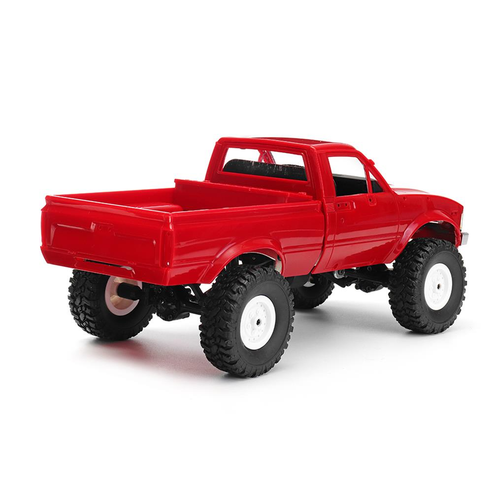 rc-cars WPL C24 1/16 Kit 4WD 2.4G Military Truck Buggy Crawler Off Road RC Car 2CH Toy RC1291830 5