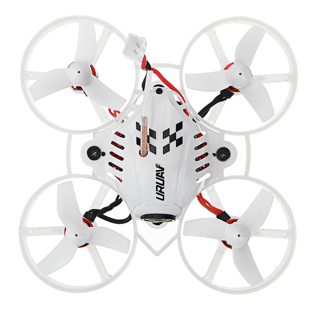 fpv-racing-drones URUAV UR65 65mm FPV Racing Drone BNF Crazybee F3 Flight Controller OSD 5A Blheli_S ESC 5.8G 25mW VTX RC1295884 5