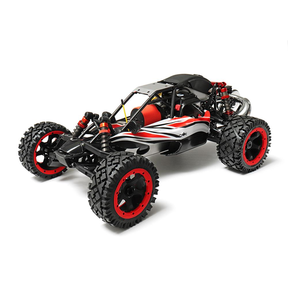 rc-cars Rovan Q-Baja Rc Car 1/5 RWD 29CC Gas 2 Stroke Engine Buggy With Symmetrical Steering Toys No Battery RC1299689