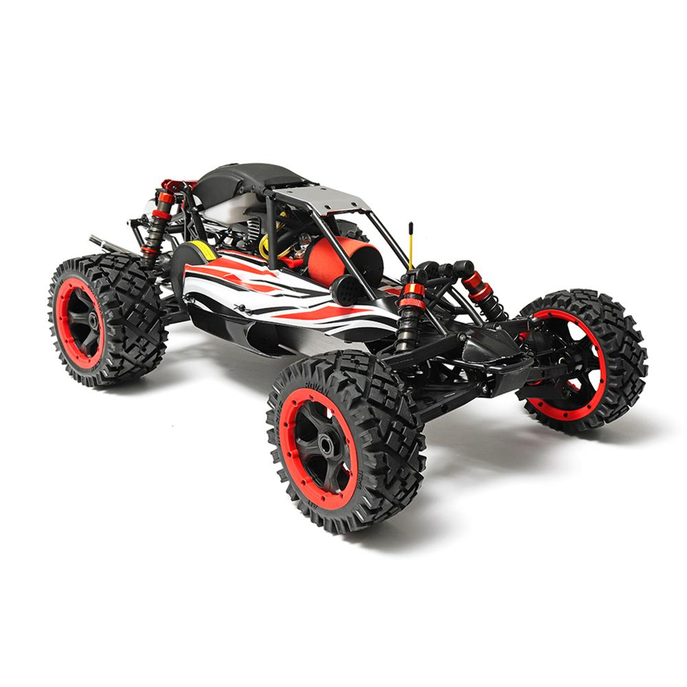 rc-cars Rovan Q-Baja Rc Car 1/5 RWD 29CC Gas 2 Stroke Engine Buggy With Symmetrical Steering Toys No Battery RC1299689 2
