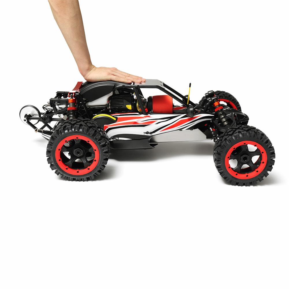 rc-cars Rovan Q-Baja Rc Car 1/5 RWD 29CC Gas 2 Stroke Engine Buggy With Symmetrical Steering Toys No Battery RC1299689 4