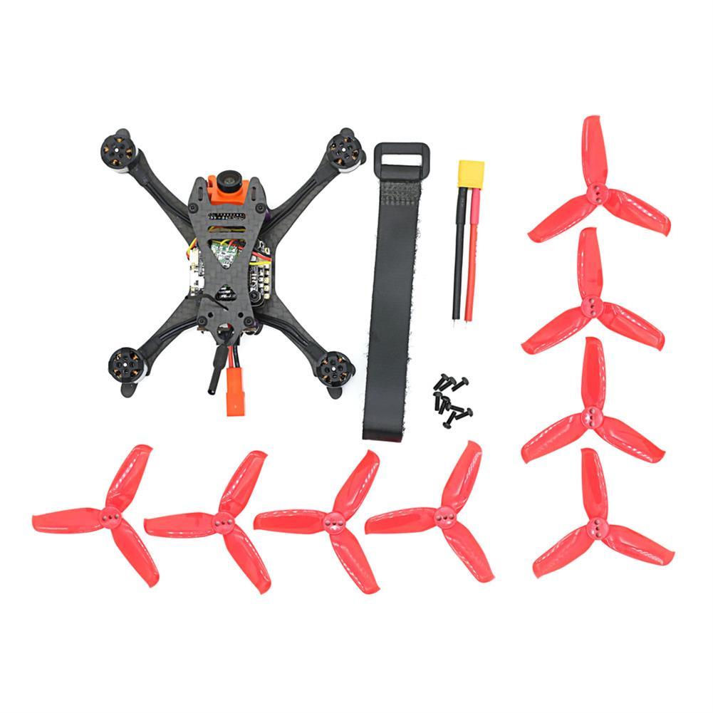 fpv-racing-drones SKYSTARS Little Bolt 120mm FPV Racing Drone PNP F4 Flight Controller OSD 20A Blheli_S ESC 600TVL Cam RC1300539 4