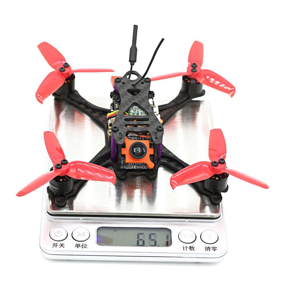 fpv-racing-drones SKYSTARS Little Bolt 120mm FPV Racing Drone PNP F4 Flight Controller OSD 20A Blheli_S ESC 600TVL Cam RC1300539 5