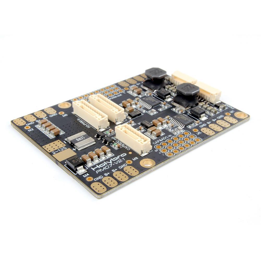 multi-rotor-parts Holybro Pixhawk 4 Flight Controller STM32F765 32 Bit ARM w/ PM07 Power Management 5V UBEC Output RC1302139 4