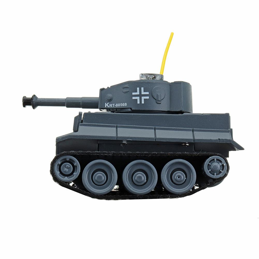 rc-tank Happy Cow 777-215 4CH 68*41*40mm Mini Radio RC Car Army Battle Infrared Tank With Light Toy RC1304067 5