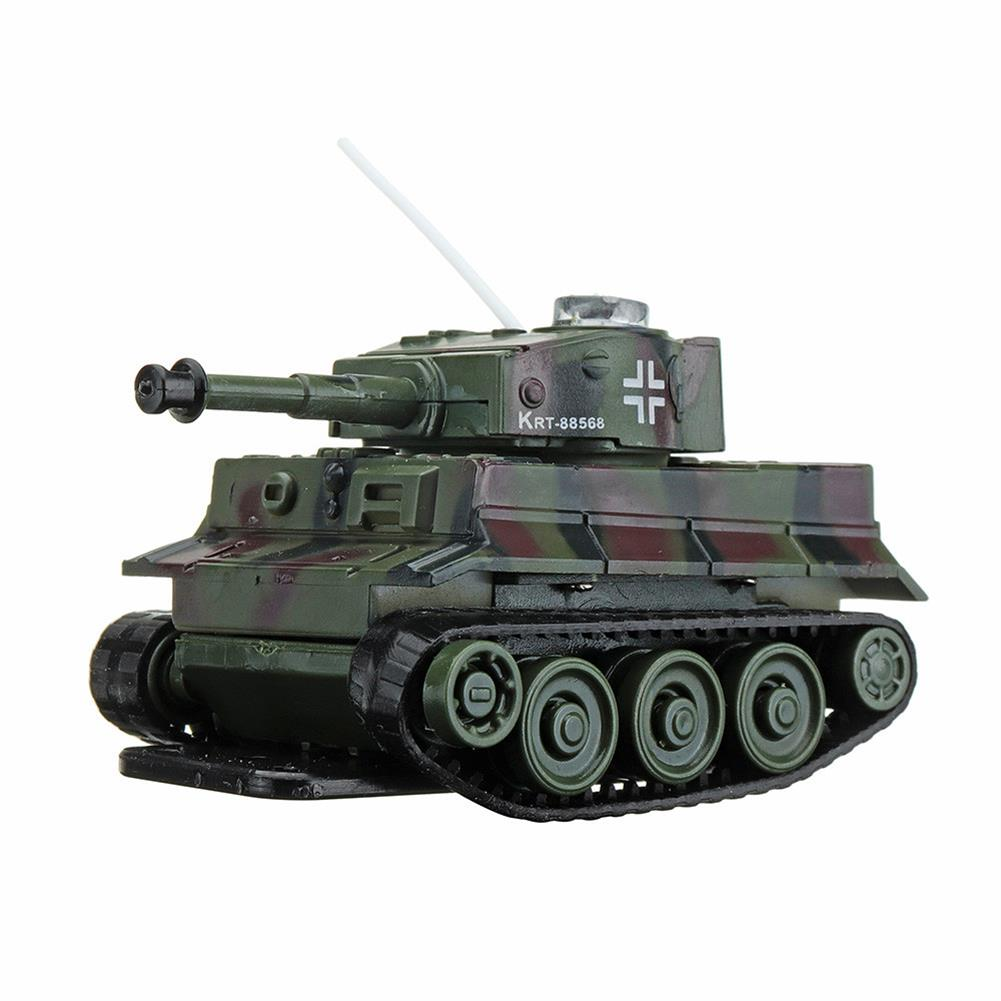rc-tank Happy Cow 777-215 4CH 68*41*40mm Mini Radio RC Car Army Battle Infrared Tank With Light Toy RC1304067 7