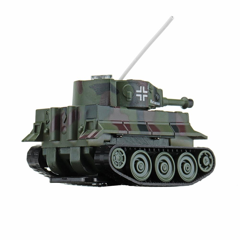 rc-tank Happy Cow 777-215 4CH 68*41*40mm Mini Radio RC Car Army Battle Infrared Tank With Light Toy RC1304067 8