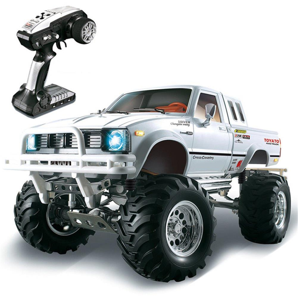 rc-cars HG P407 1/10 2.4G 4WD Rally Rc Car for TOYATO Metal 4X4 Pickup Truck Rock Crawler RTR Toy RC1307753